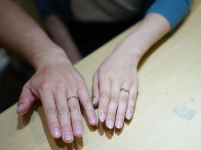 兵庫県宍粟市「FISCHER」と「LAZARE DIAMOND」の結婚指輪をご成約頂きました。