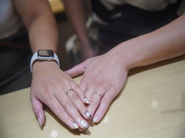 ハニーブライドの結婚指輪とプルーヴの結婚指輪をご成約頂きました