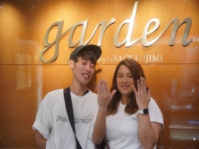 兵庫県姫路市「Honey B」「Preuve」の結婚指輪をご成約頂きました。