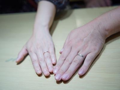 兵庫県姫路市「nocur」「FISCHER」の結婚指輪をご成約頂きました。