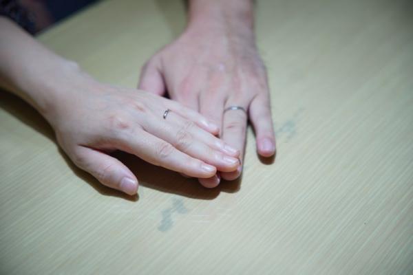 フィッシャーとノクルの結婚指輪